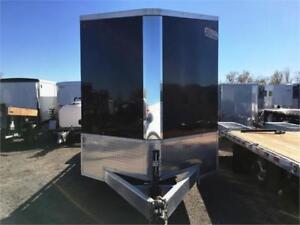 Galvanized Landscape Trailer w/Enclosed Front - Just Reduced!