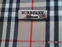 2 lovely ladies handbags for sale 1 in red, 1 burberry style clutch bag