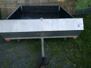8x10 galvanized trailer