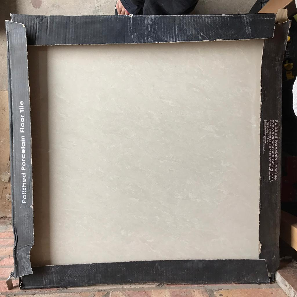 Ivory polished porcelain floor tiles 600mm x 600mm job lot in ivory polished porcelain floor tiles 600mm x 600mm job lot dailygadgetfo Image collections
