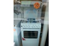 NEWWORLD 50CM ALL GAS HIGH LEVEL COOKER IN WHITE