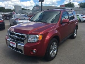 2012 Ford Escape Limited,PST PAID,Sunroof,4x4
