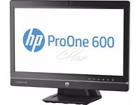 ** 250GB SSD ** HP Pro One 600 all in one PC ** Intel G3220 ** 8GB ram SEE OUR OTHER ADS **