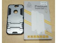 HTC One A9 case and glass protector