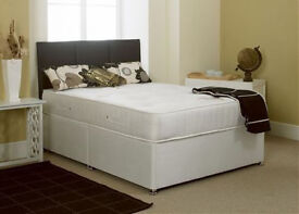 Free Delivery! EXCLUSIVE SALE! Brand New Looking! Double (Single + King Size) Bed & Budget Mattress