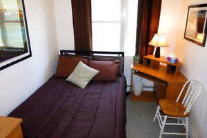 Furnished bedroom, 8-month lease (Sep-May), includes everything