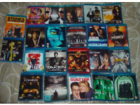 22 Mixed Blu ray Bundle like new and some sealed