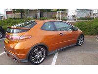 Honda Civic Type S GT Rare Repsol Tangerine Racing Colour 2.2cdti 54mpg
