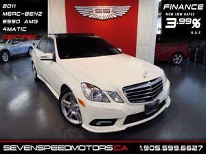 2011 Mercedes-Benz E-Class E550 4MATIC|$179 BW|MANUFACTURER WARR