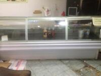 Shop Counter Display Fridge - Takeaway Convenience shop Meat counter Display Unit