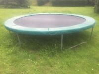 """""""TP Toys"""" 12' diameter trampoline, used, bought circa 2005"""