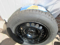 "VAUXHALL ASTRA SPARE 15"" STEEL WHEEL RIM 4STUD AND TYRE 195/65/R15 91H NEW BARGAIN BRISTOL BS9"