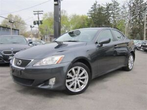 2007 Lexus IS 250 AWD/SUNROOF/LEATHER/LOW KMS/56KMS/AUTO!!!