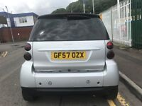 2007 (57 reg) Smart Fortwo 1.0 Passion 2dr Automatic Petrol Low Miles