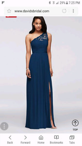 Size 16 bridesmaid dress