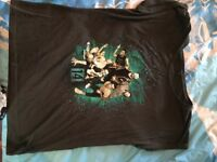 McBusted 2014 tour tshirt large