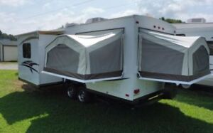 BEAUTIFUL HYBRID TRAILER FOR RENT/WE DELIVER AND SETUP  TO YOU