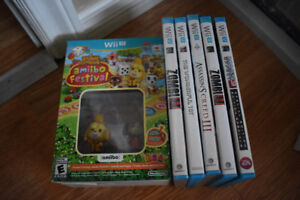 Wii U Games- prices range from $10- $35