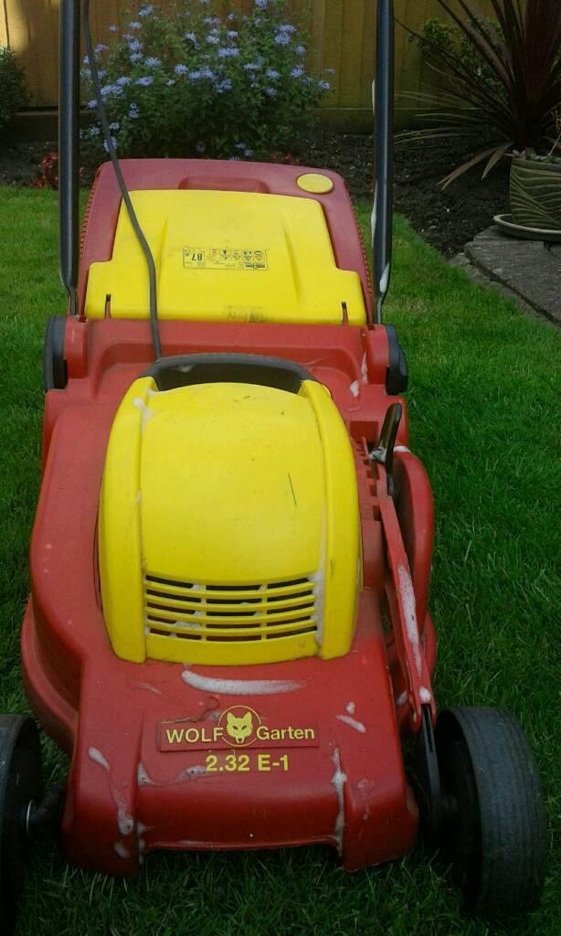 Lawnmower wolf garten in working orderin Cheshunt, HertfordshireGumtree - Wolfgarten lawn mover good condition pick up only