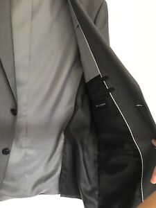 Grey Suit--worn once, basically brand new