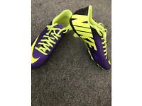 Nike size 8 mercurial football boots & Astro turf