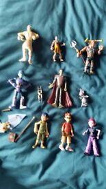 Matt Hatter Chronicles bundle, incl book, figures, cell blaster, cell catcher, etc