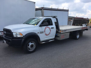 2016 Dodge 5500 Flatbed Tow Truck for Sale