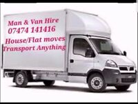 Man & Van - House & Flat moves - Transport furniture
