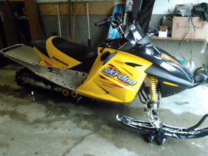 2003 Ski-doo MXZ 800 trade for 550 Freestyle/Tundra