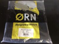 Mens Orn Vulture Ballistic Work Trousers 40 R New