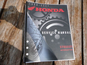 98-01 Honda VFR800FI  shop manual