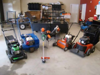 Repairs To Lawnmowers & Yard Equipment