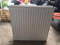 Small double radiator - 600 x 600 mm