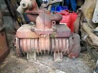 Slurry tanker vacuum pump parts