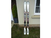 A pair of Rossignol B1 170 All Terrain Ski's with Marker 100 Bindings, excellent condition.