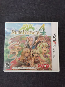 Rune factory 4 3DS game