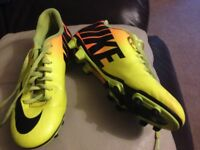 Nike football boots - good condition size 8.5