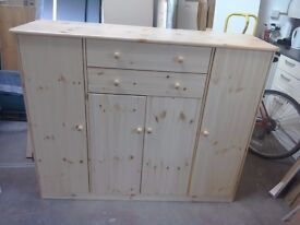 Large pine sideboard