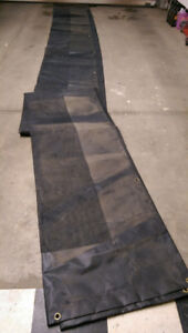 Dump Truck or Trailer Waterproof Thick Vinyl Tarp (New)
