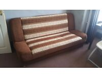 GOOD CONDITION SOFA BED X 2 - £120 - QUICK SALE - NO DELIVERY - AS SEEN IN PICS