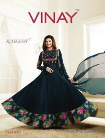 VINAY GALAXY WHOLESALE GEORGETTE KALI SALWAR SUITS