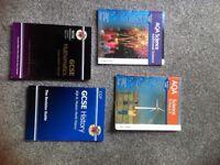 Various school books