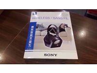 Sony MDR-RF840RK Black Supraaural headphone - headphones