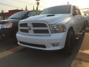 *SPECIAL*2012 RAM FULLY LOADED SPORT CREW CAB *RIMS *