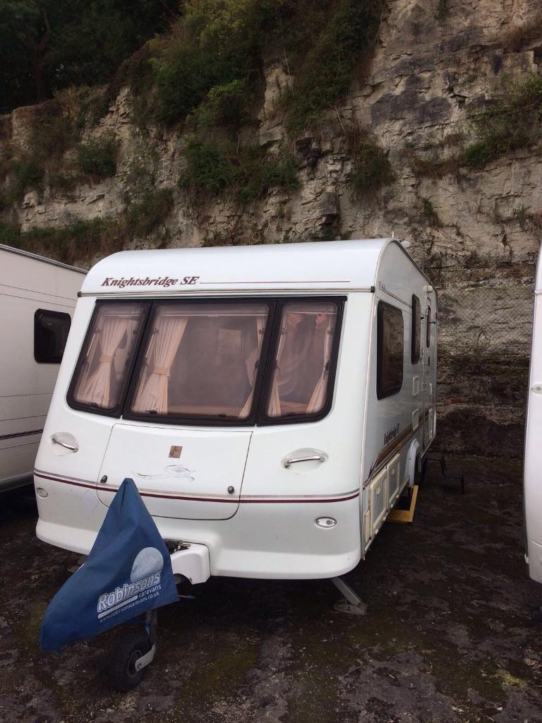 Elddis Avante 524 Caravan - 2004