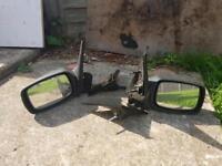 Fiesta mk5 rh/lh wing mirrors