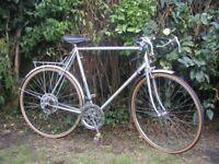 peugeot vintage racing bike du monde 103 carbolite 25 in frame,new tyres,runs well