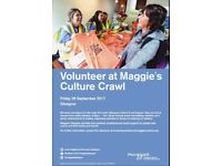 Volunteer and help people affected by cancer in Glasgow