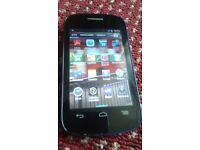 ALCATEL ONE TOUCH, MINT AND OPEN TO ALL NETWORK