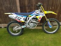 suzuki rmz450 not cr yz kx